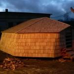 Sindelkatusega tuuliku kuppel