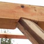Katusekonstruktsioon laastukatusele Välgita mõisas 2