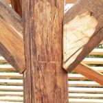 Katusekonstruktsioon laastukatusele Välgita mõisas