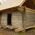 Palgivahetus ja kimmikatuse ehitamine Saaremaal