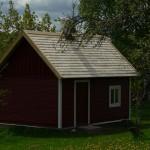 Laastukatusega saun Tartumaal